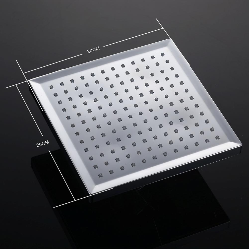 Regenwalddusche Led : Brause Regenbrause Dusch Kopfbrause Duschkopf Bad mit LED eBay