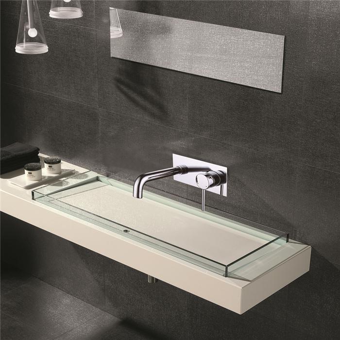 Homelody robinet salle de bain mural mitigeur salle de for Robinet salle de bain mural