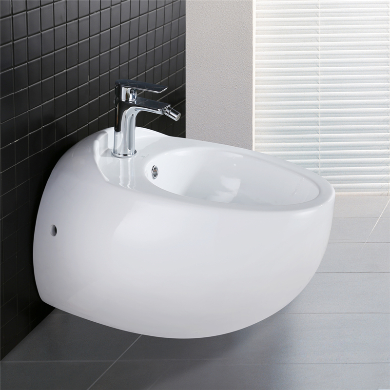 wandh nge wc toilette tiefsp ler softclose sitz wandmontage badkeramik bidet ebay. Black Bedroom Furniture Sets. Home Design Ideas