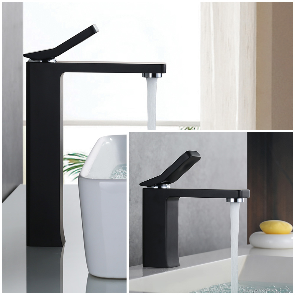 badarmatur einhebelmischer armatur waschtischarmatur wasserhahn schwarz armatur. Black Bedroom Furniture Sets. Home Design Ideas