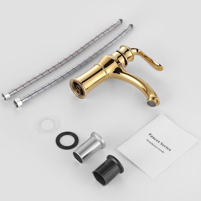 gold wasserhahn mischbatterie waschtischarmatur. Black Bedroom Furniture Sets. Home Design Ideas