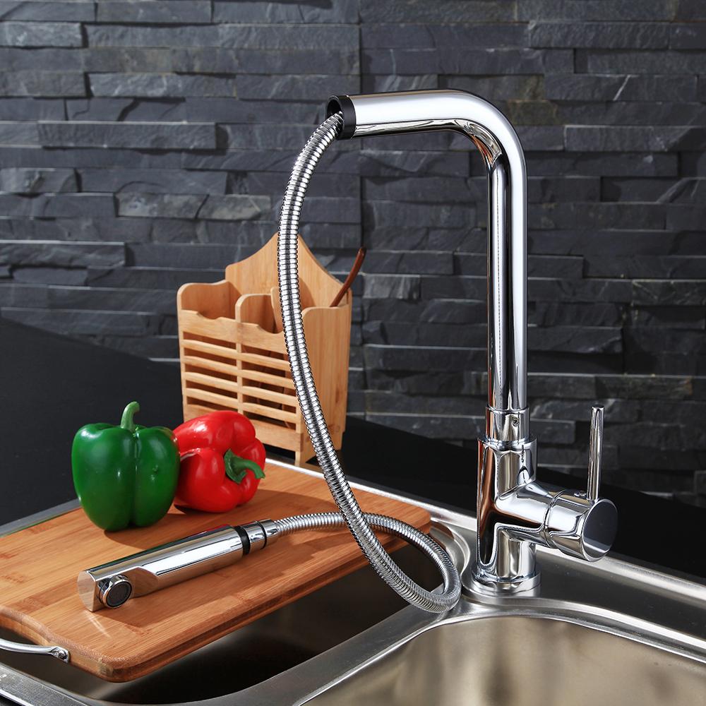 Wasserhahn kuche spultisch wasserkran einhand armatur mit for Wasserkran küche