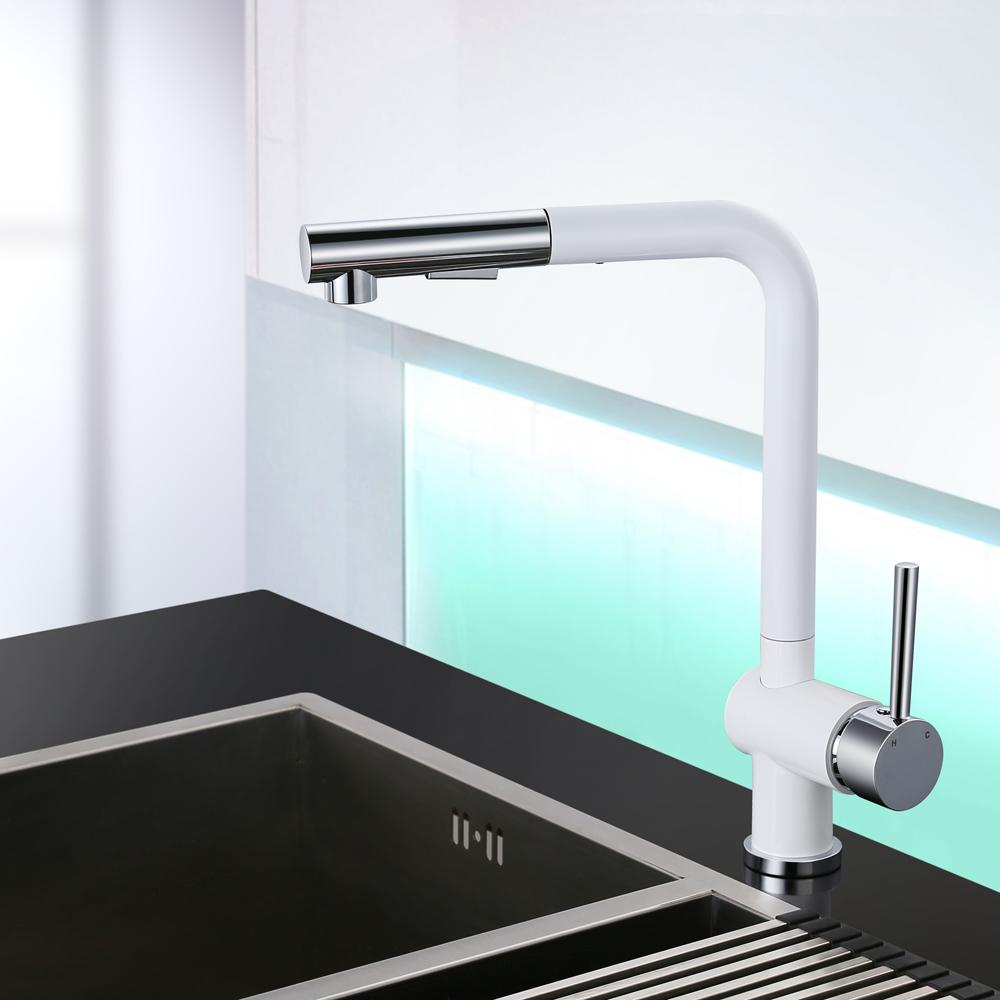 ausziehbar brause wasserhahn sp ltisch armatur. Black Bedroom Furniture Sets. Home Design Ideas
