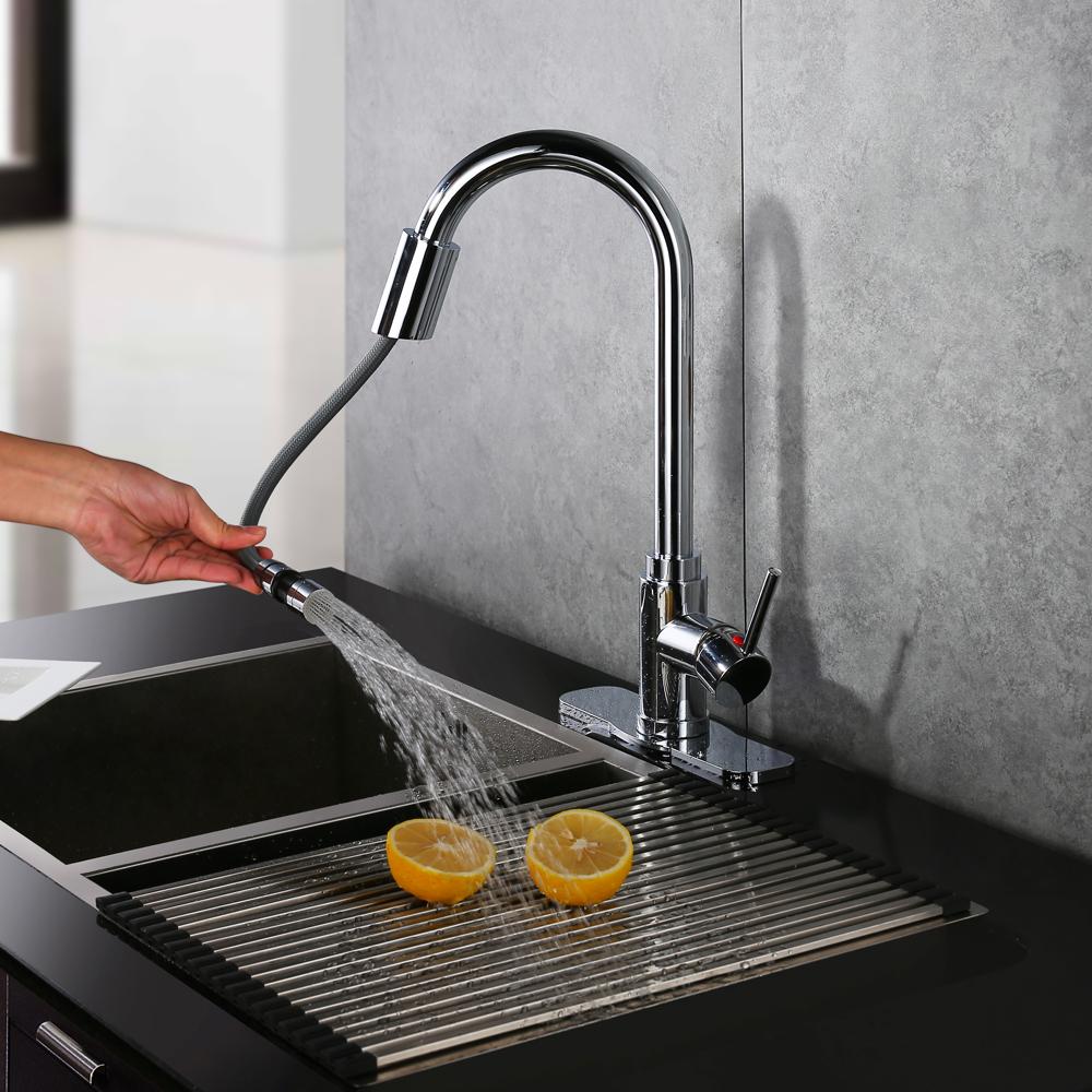 Sensor Wasserhahn Küchenarmatur Spültisch Armatur Infrarot Automatisch Für  Küche EBay